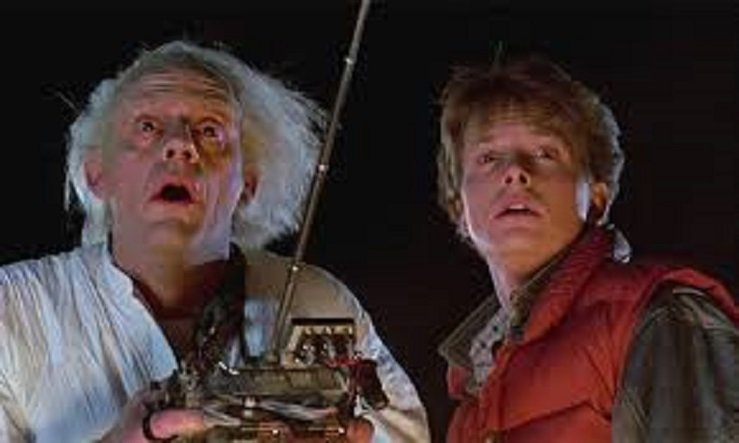 80 90 yapimi Bilim Kurgu Filmleri back to the future