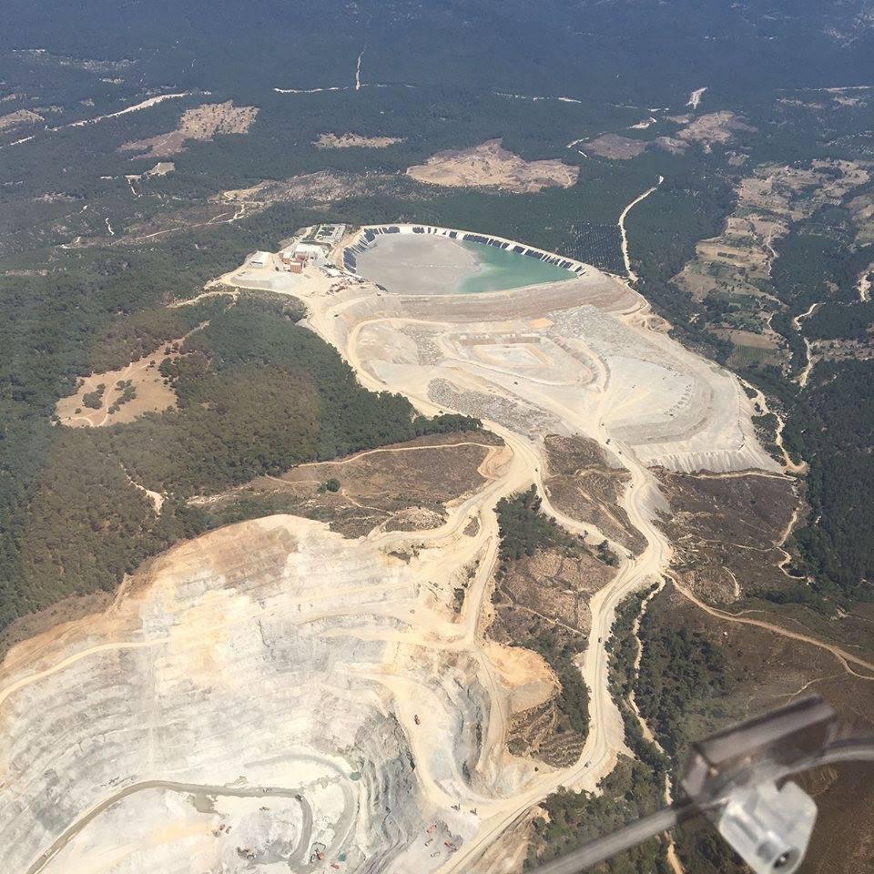 kaz dağları altın madenleri